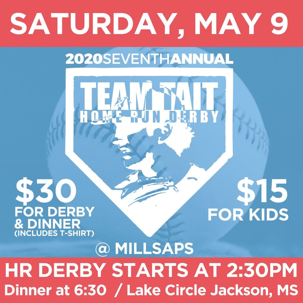 Who Won The 2020 Home Run Derby.2020 Team Tait Home Run Derby